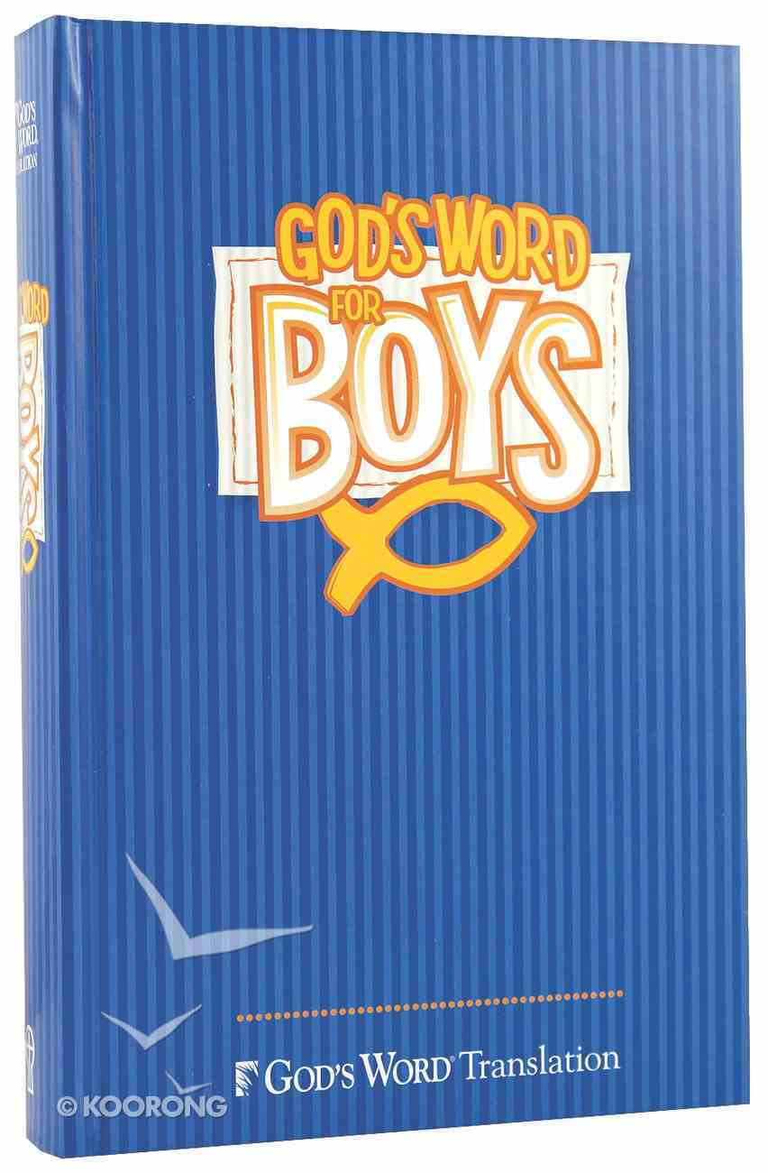 God's Word For Boys Hardback