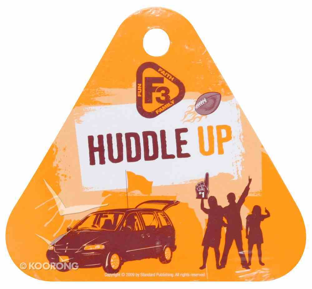 F3: Huddle Up Family Cards (12) Game