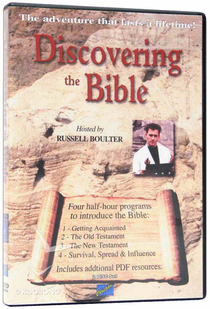 Discovering the Bible (Curriculum) Dvd-rom