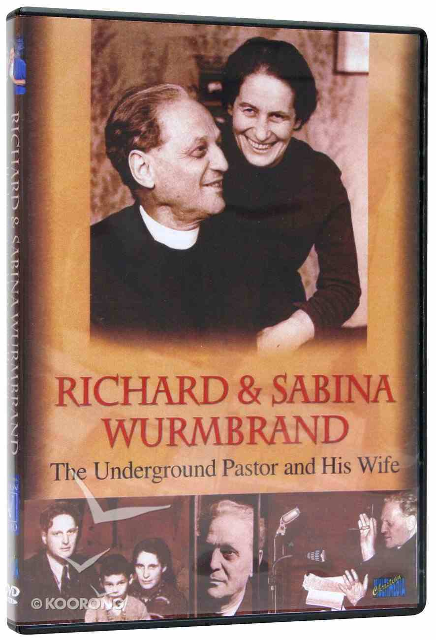 Richard & Sabrina Wurmbrand DVD
