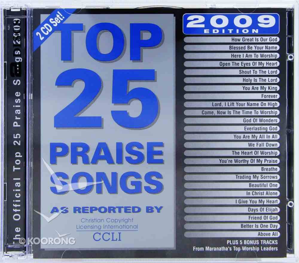 Top 25 Praise Songs 2009 Edition (Double Cd) CD