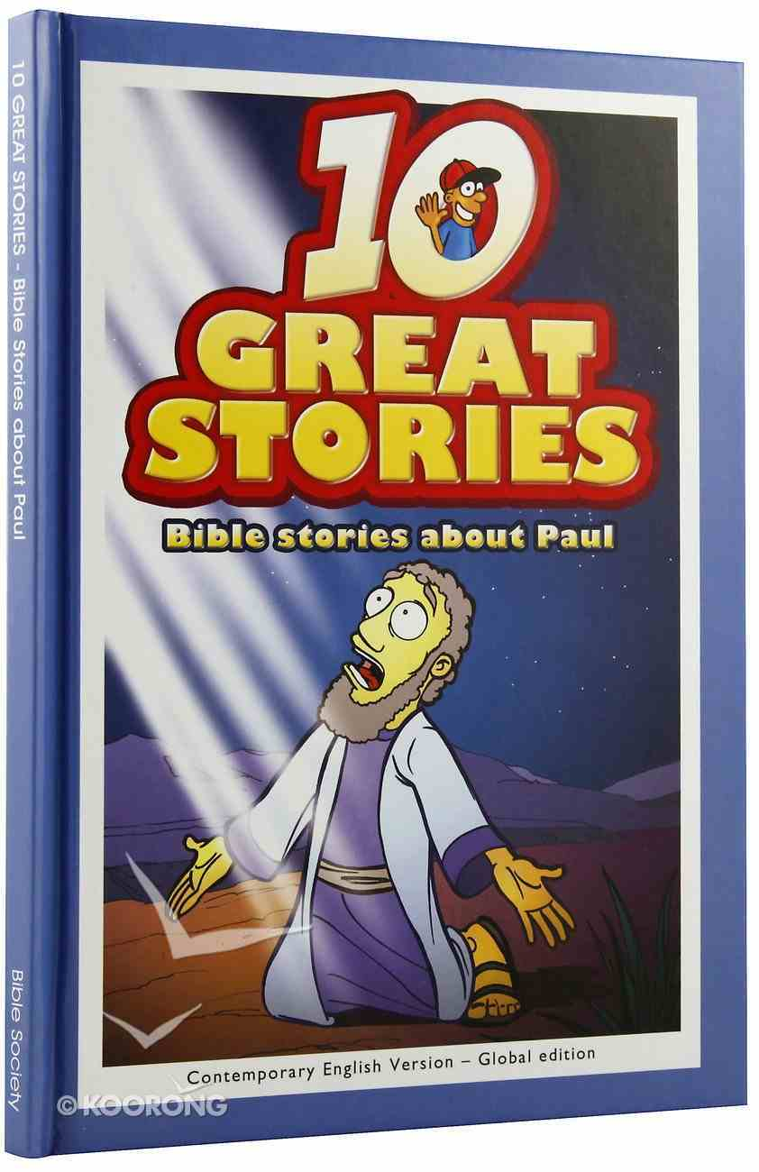 Bible Stories About Paul (10 Great Stories Series) Hardback