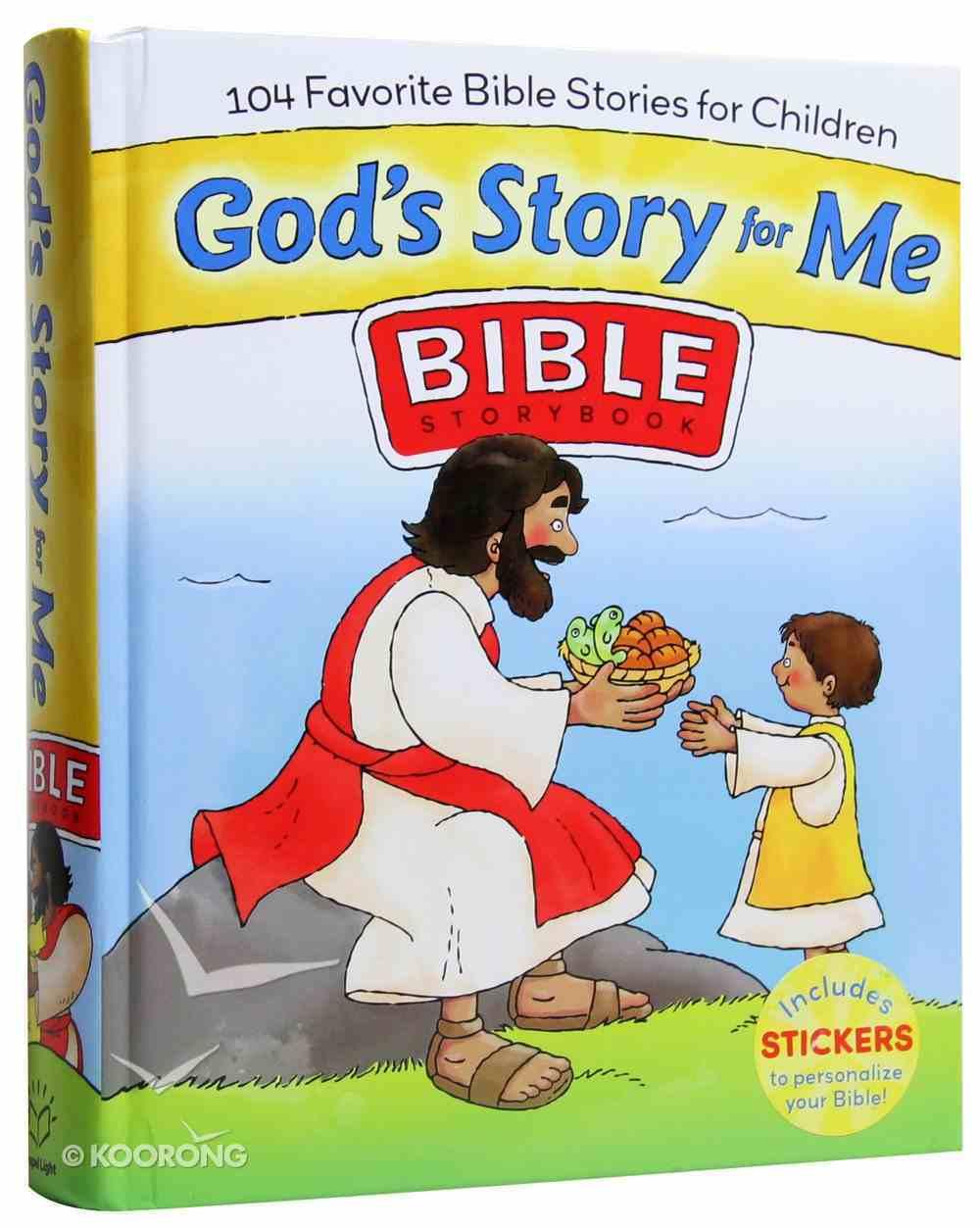 God's Story For Me Hardback