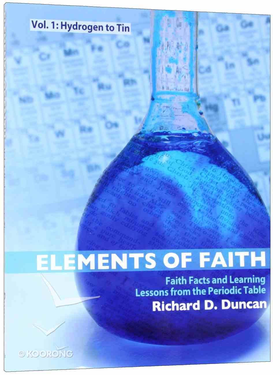 Elements of Faith (Volume 1) Paperback