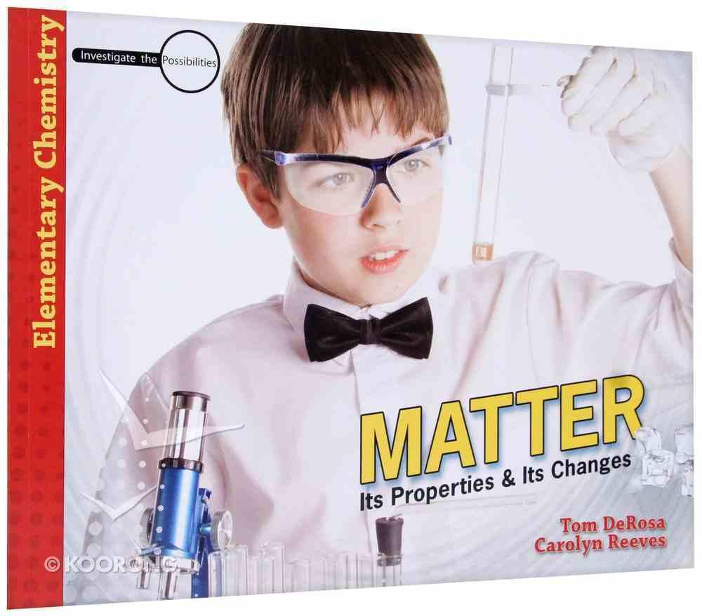 Matter (Elementary Science Series) Hardback