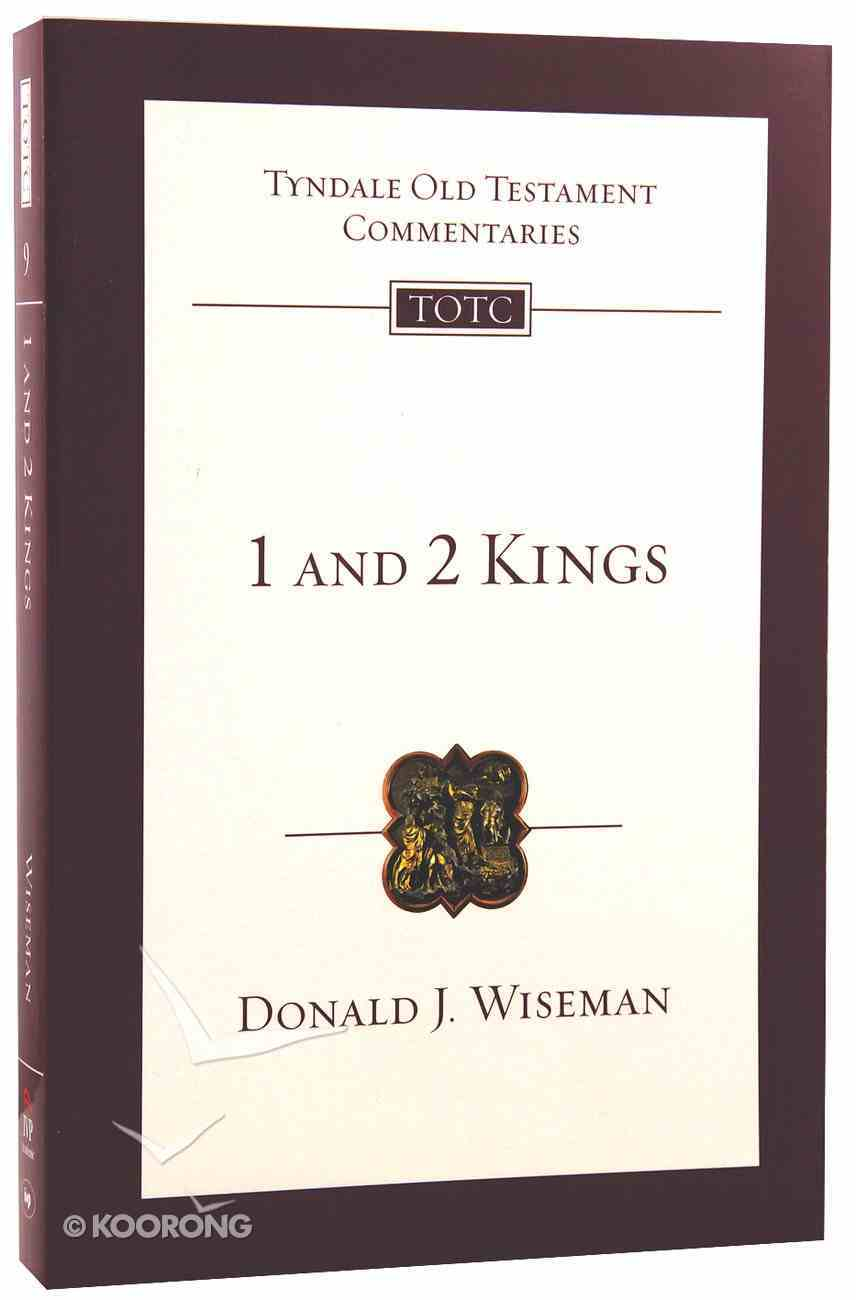 1&2 Kings (Tyndale Old Testament Commentary (2020 Edition) Series) Paperback