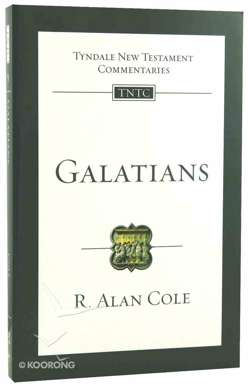 Galatians (Tyndale New Testament Commentary (2020 Edition) Series) Paperback