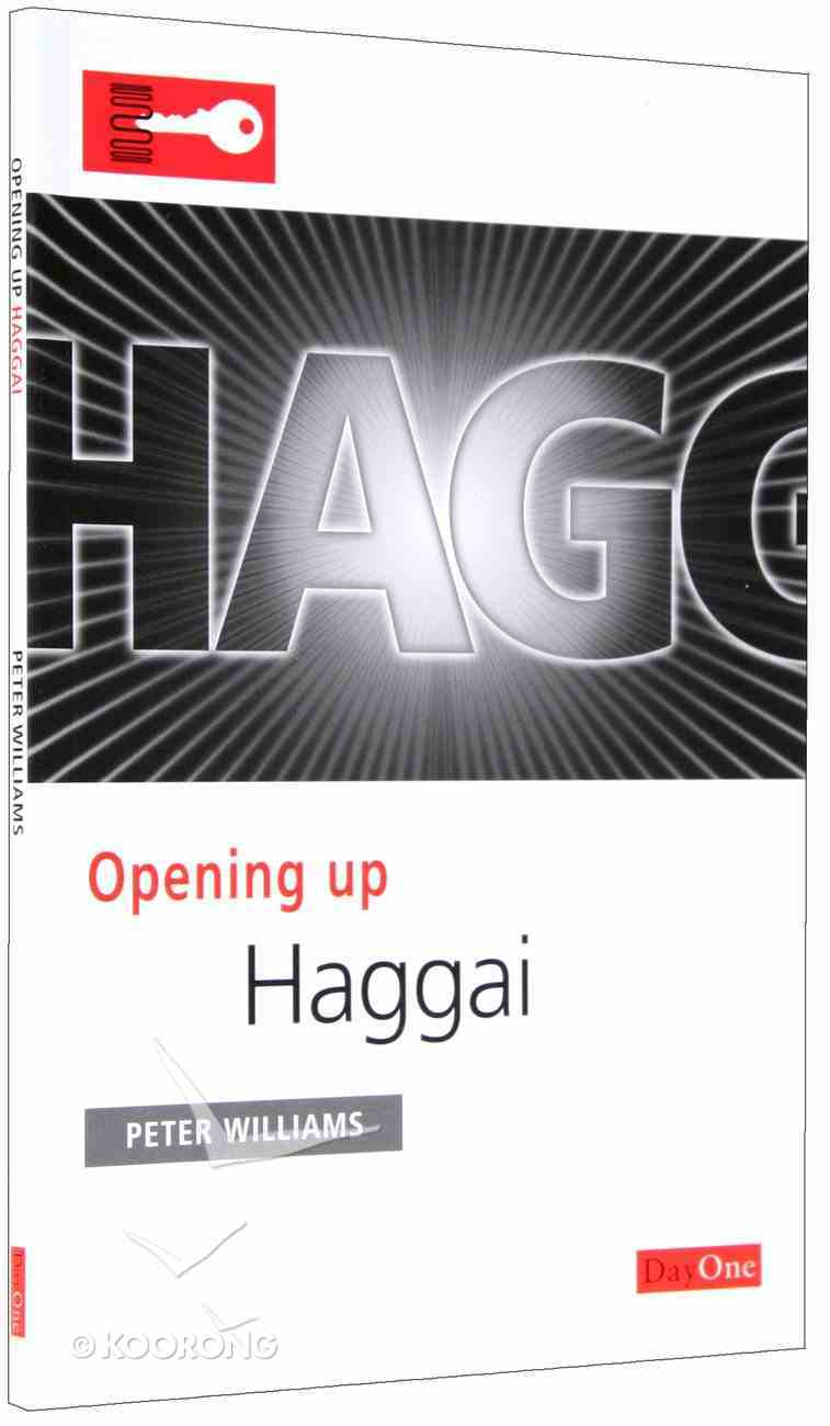 Haggai (Opening Up Series) Paperback