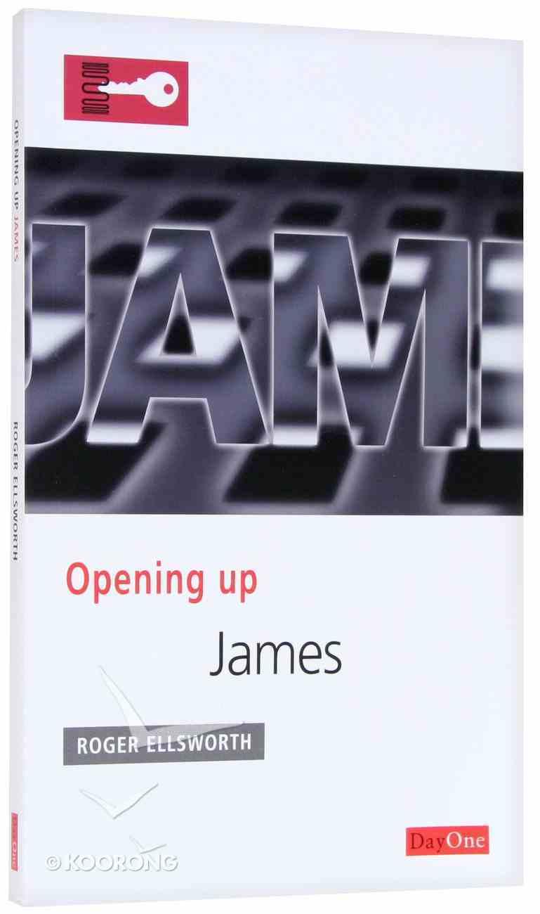 James (Opening Up Series) Paperback