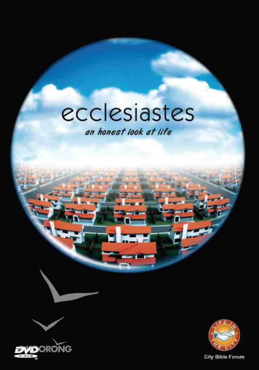 Ecclesiastes: An Honest Look At Life DVD