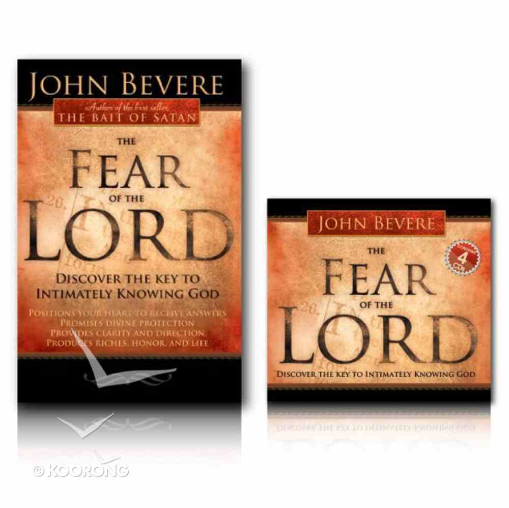 Fear of the Lord Book and Audio Pack Pack