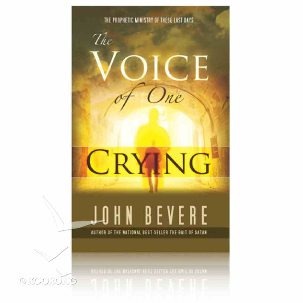 The Voice of One Crying Paperback