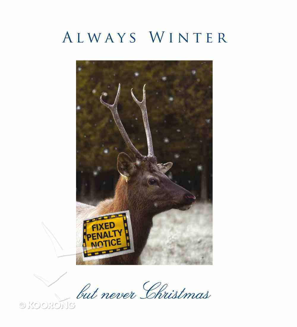 Always Winter But Never Christmas (10 Pack) Booklet