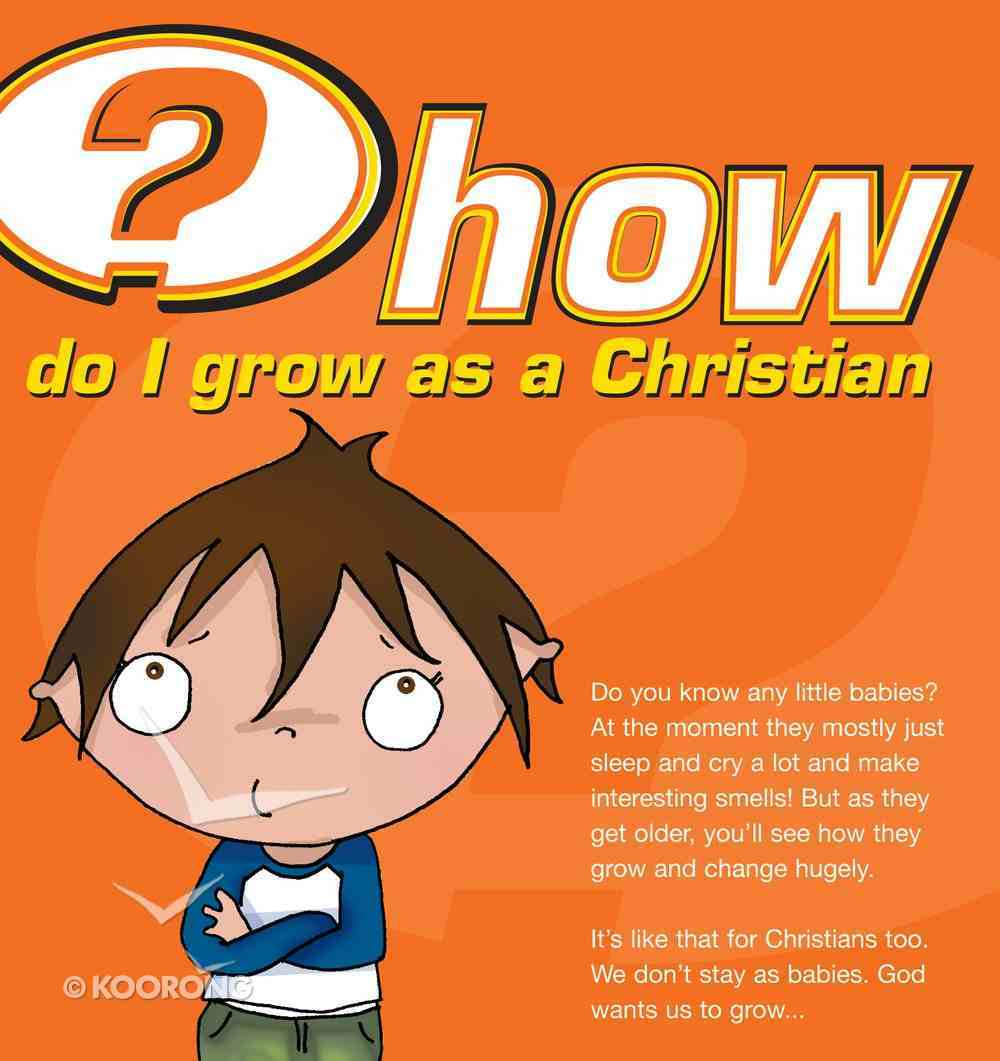 How Do I Grow as a Christian? (25 Pack) Booklet