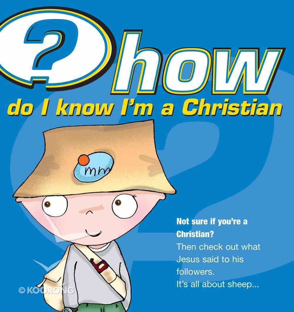 How Do I Know I'm a Christian? (25 Pack) Booklet