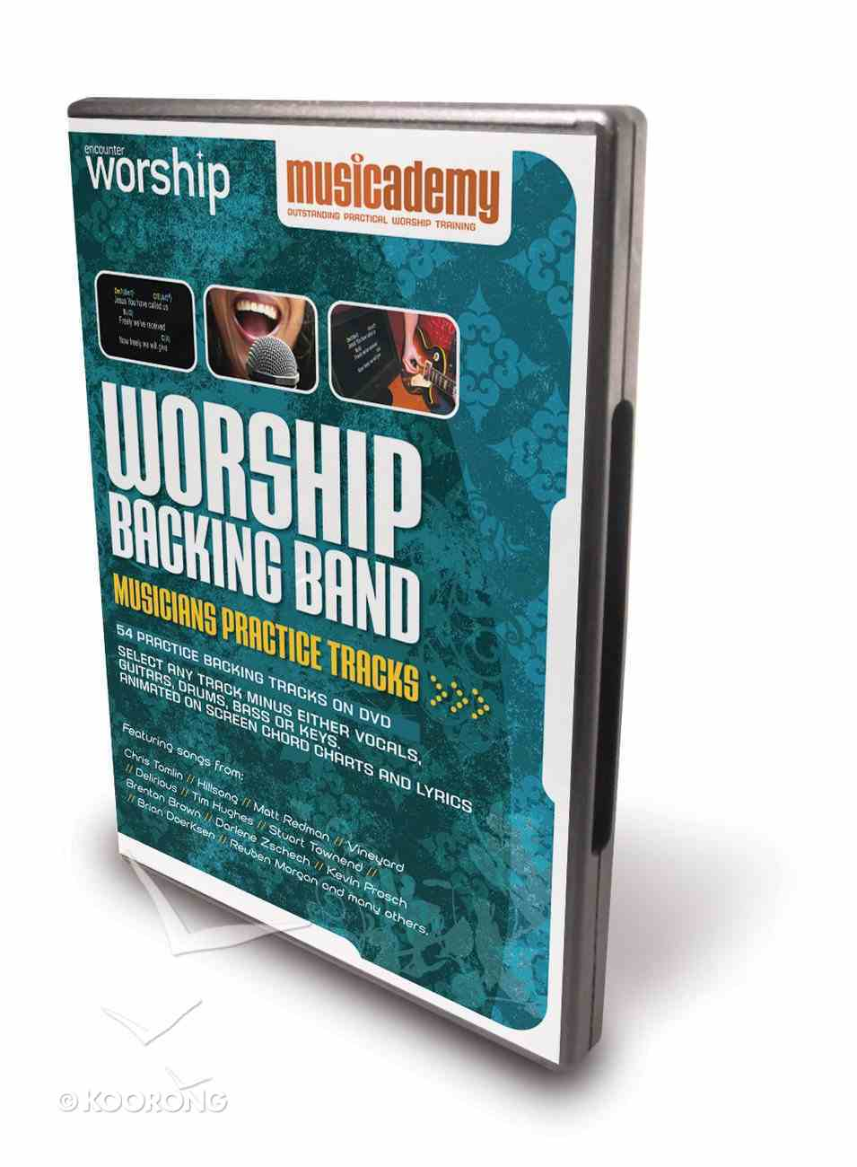 Musicademy: Worship Backing Band Musicians' Practice Tracks DVD