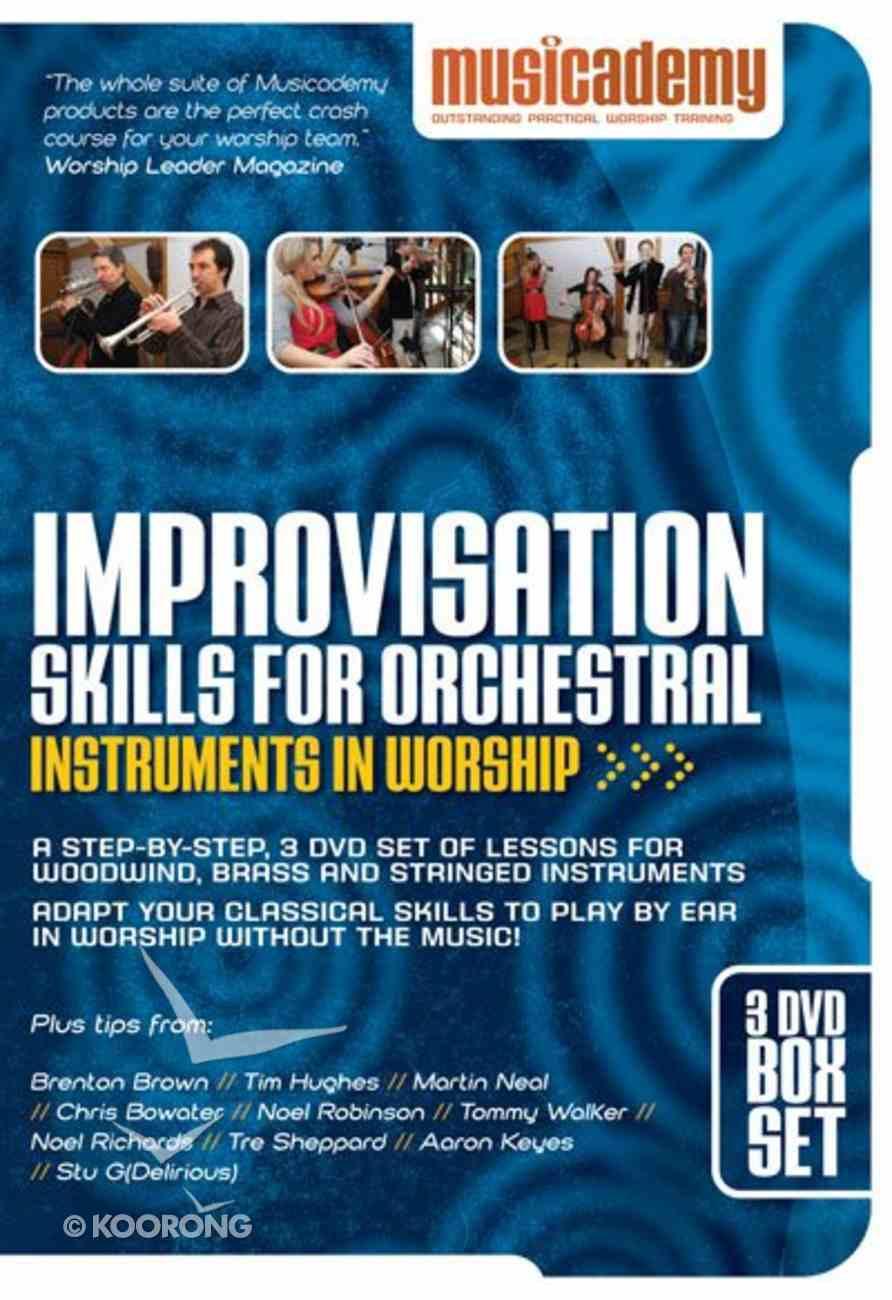 Improvisation Skills For Orchestral Instruments in Worship DVD