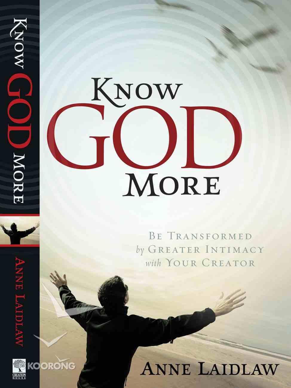 Know God More Paperback
