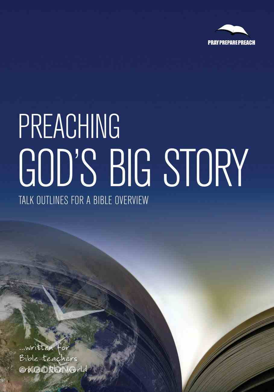 Preaching God's Big Story Paperback