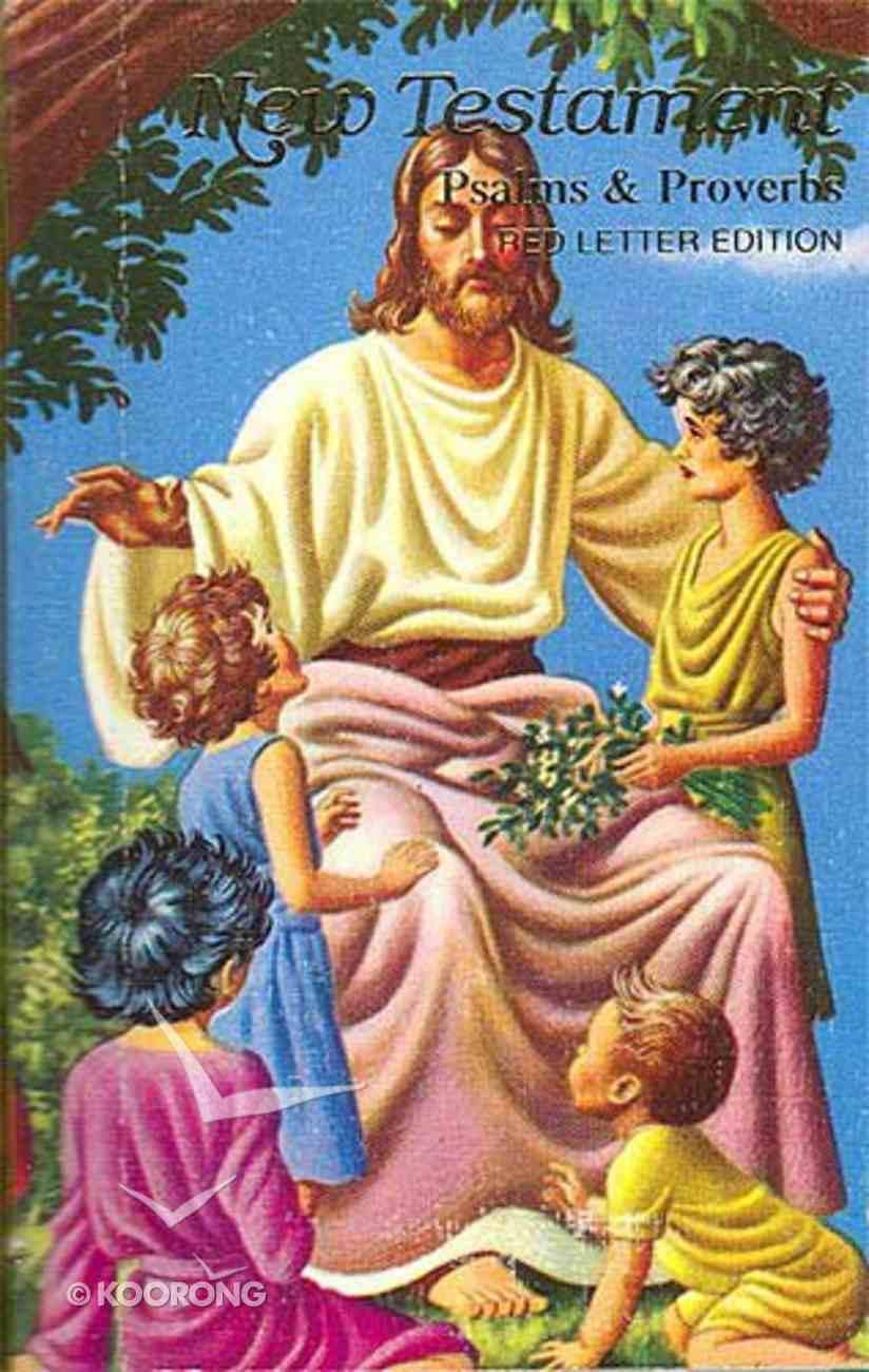 KJV Children's Rainbow Illustrated New Testament Bible With Psalms & Proverbs Hardback