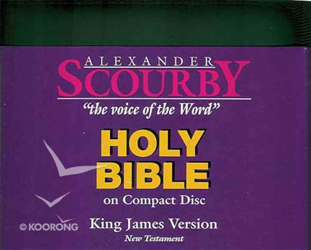 KJV Scourby New Testament on CD Black Zipper Pack CD