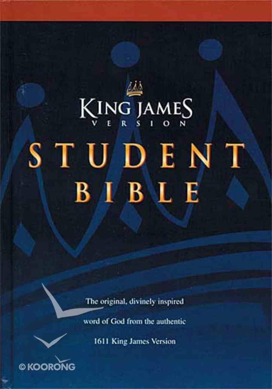 KJV Student Bible Hardback