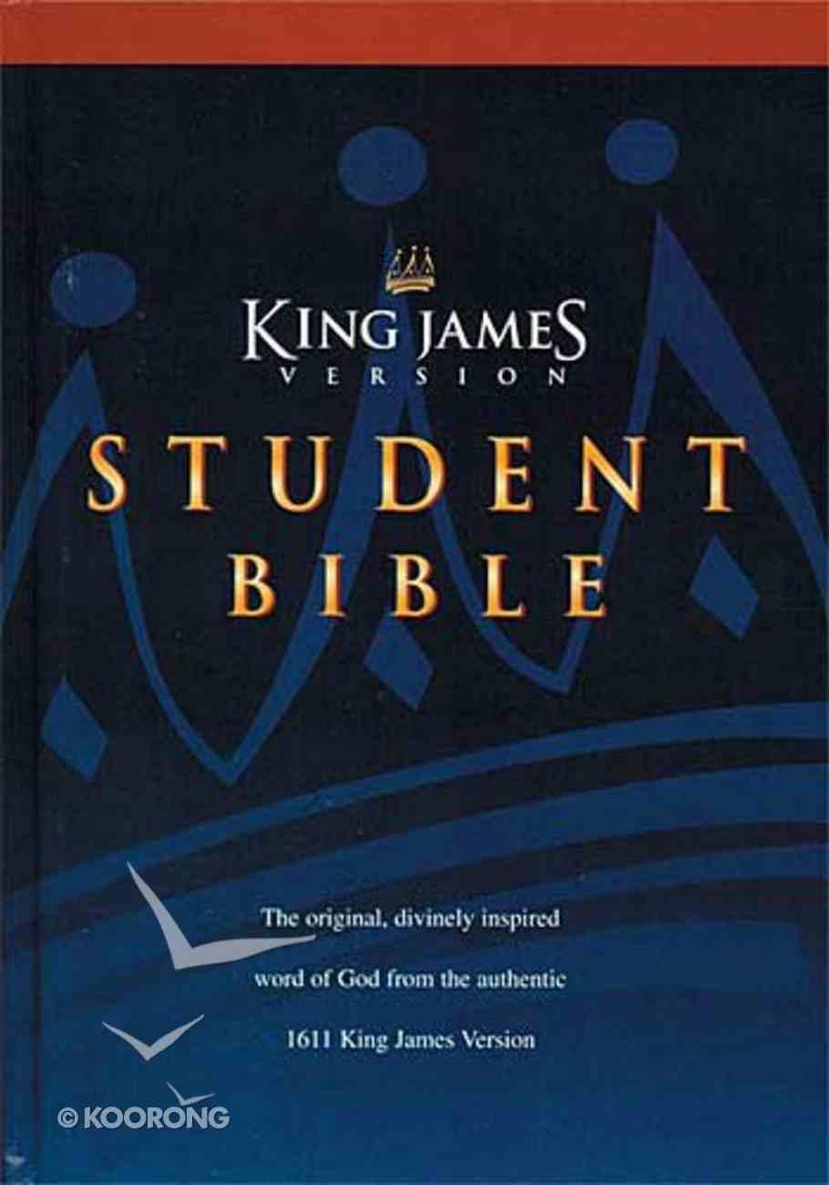 KJV Student Bible Indexed Hardback