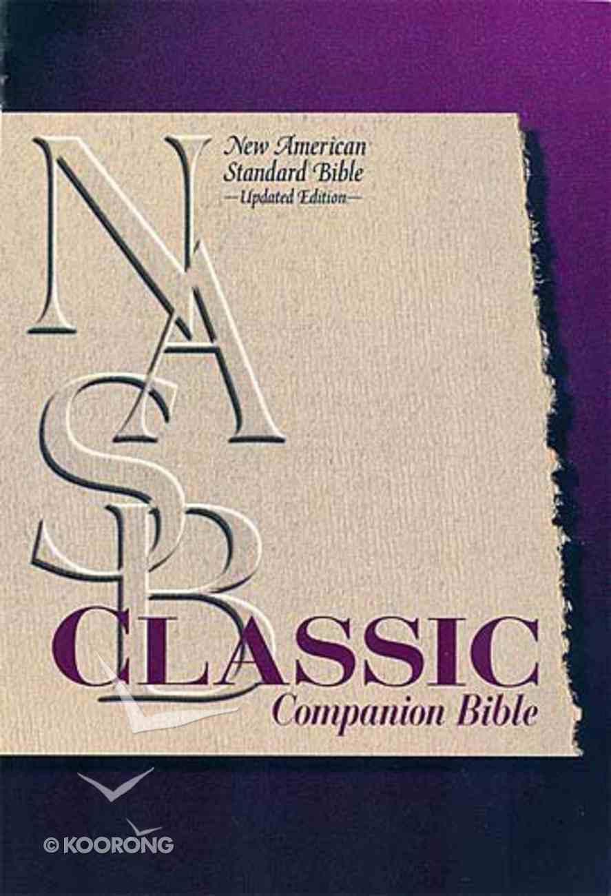 NASB Classic Companion Burgundy Indexed (Nasb 1995 Update) Bonded Leather