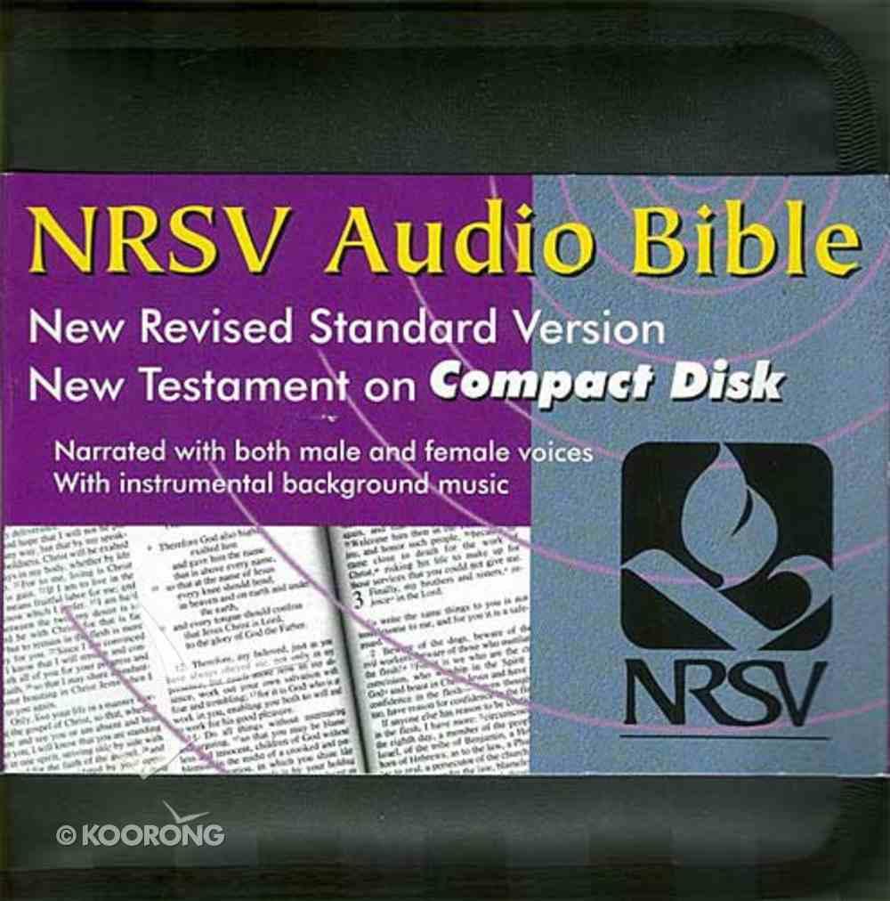 NRSV Audio Bible New Testament on CD Black Nylon Carrying Case CD