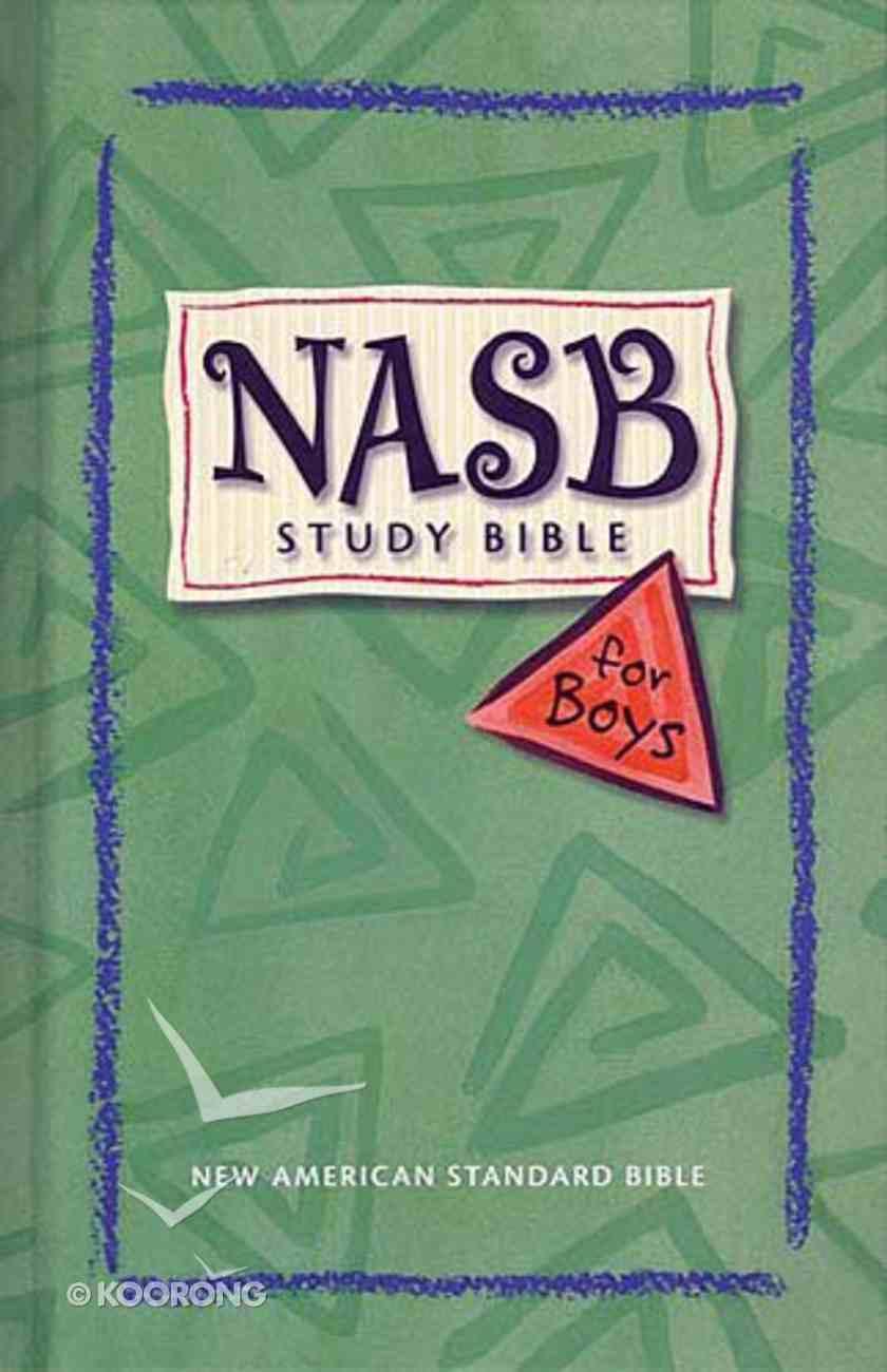 NASB Study Bible For Boys Indexed (Nasb 1995 Update) Hardback