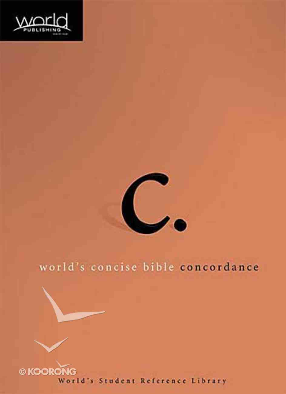 World's Concise Bible Concordance Hardback