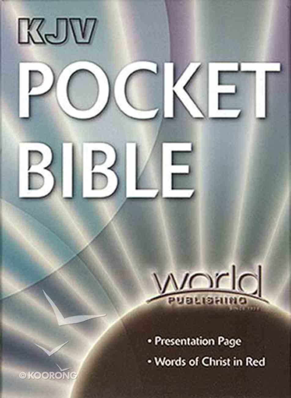 KJV World Pocket Black Bonded Leather