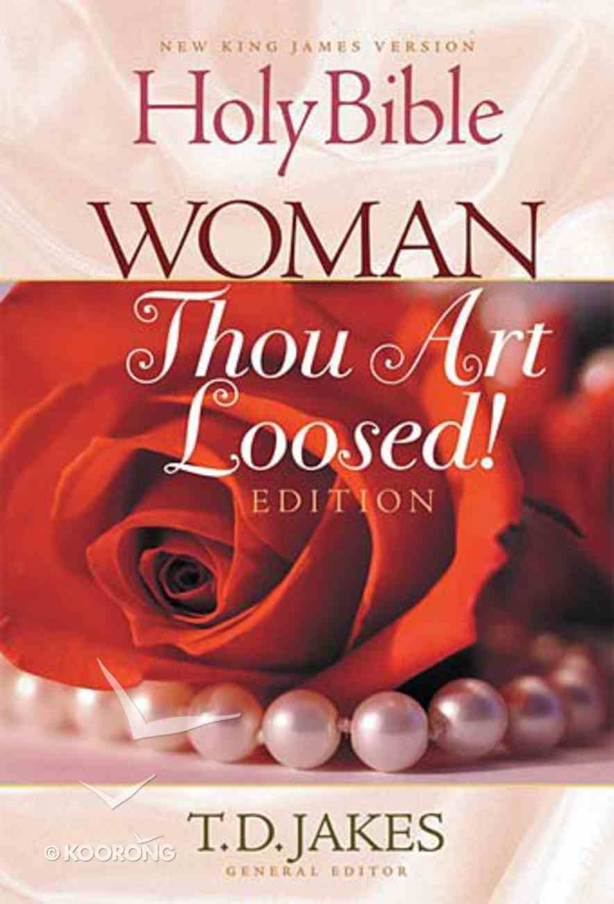 NKJV Woman Thou Art Loosed! Edition (Red Letter Edition) Paperback