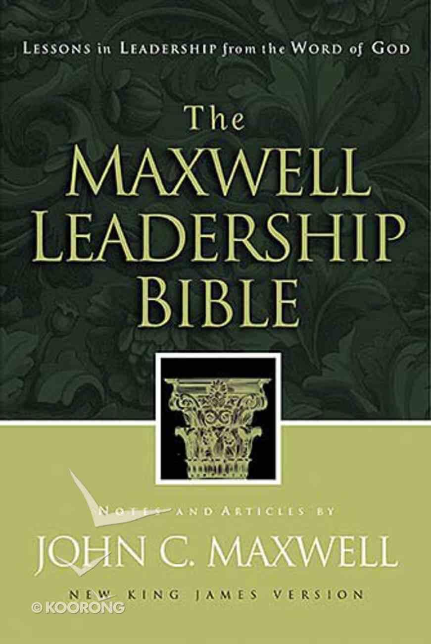 NKJV the Maxwell Leadership Bible Hardback