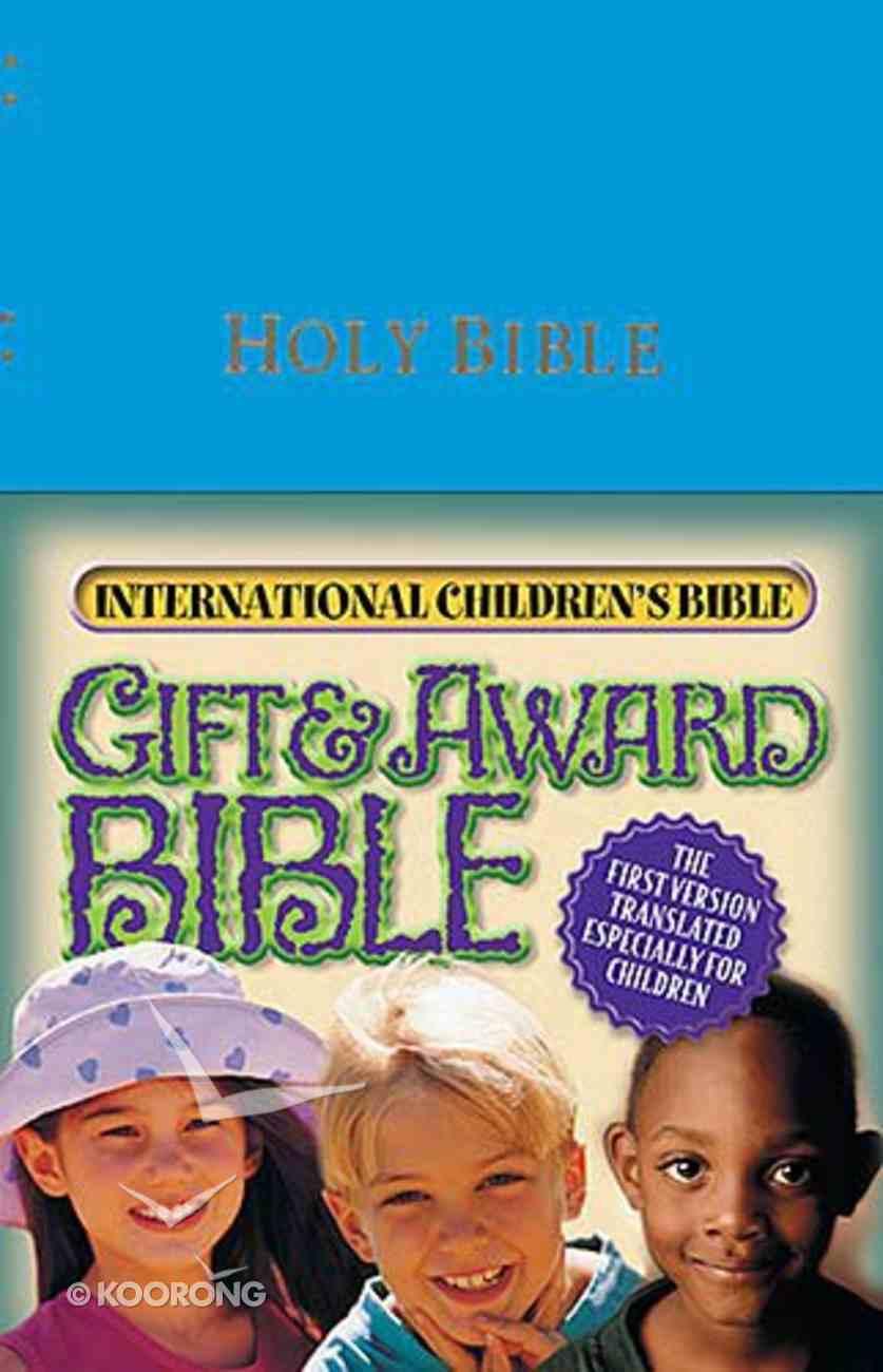 ICB Gift & Award Blue Imitation Leather