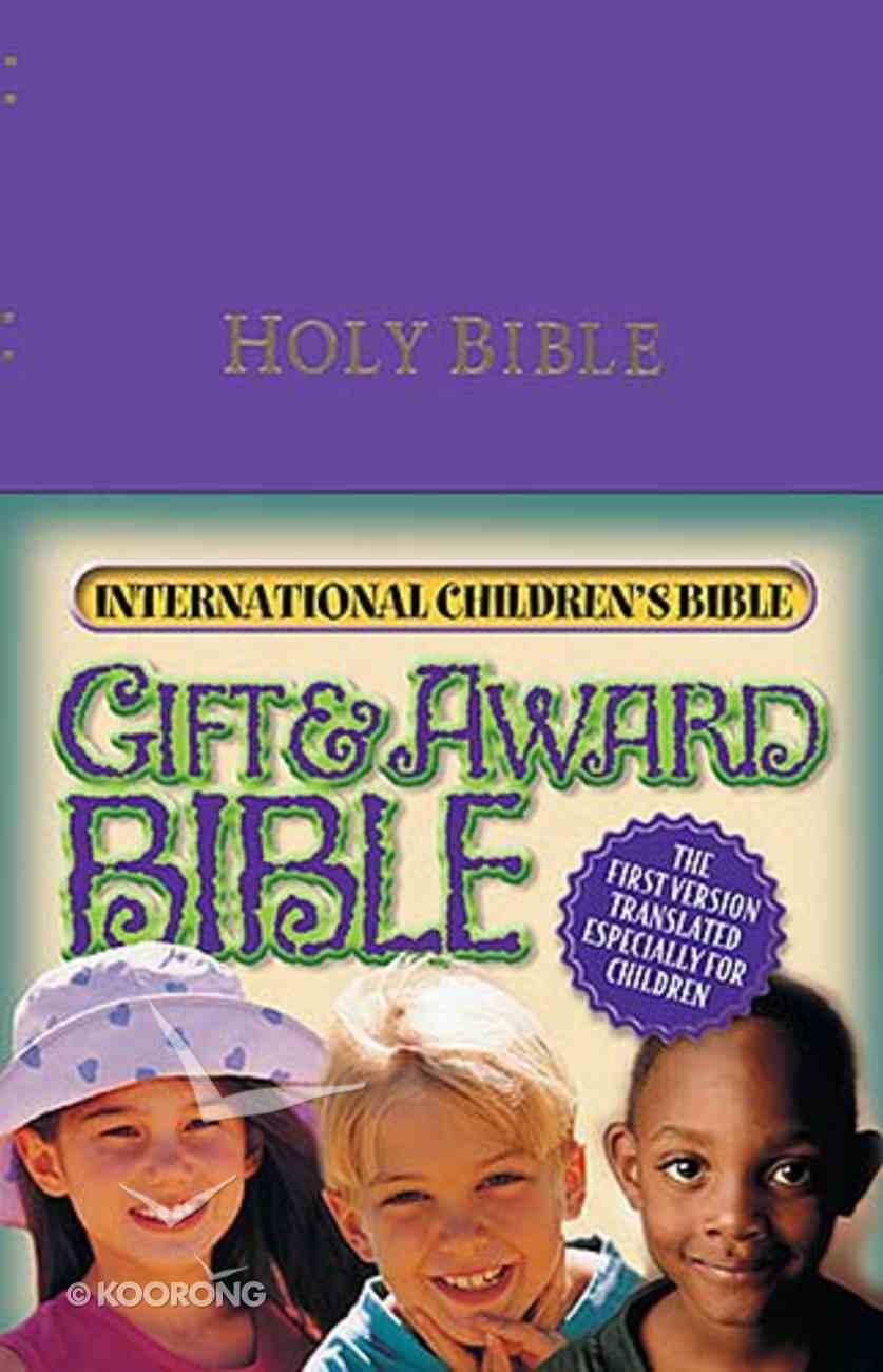 ICB Gift & Award Purple Imitation Leather