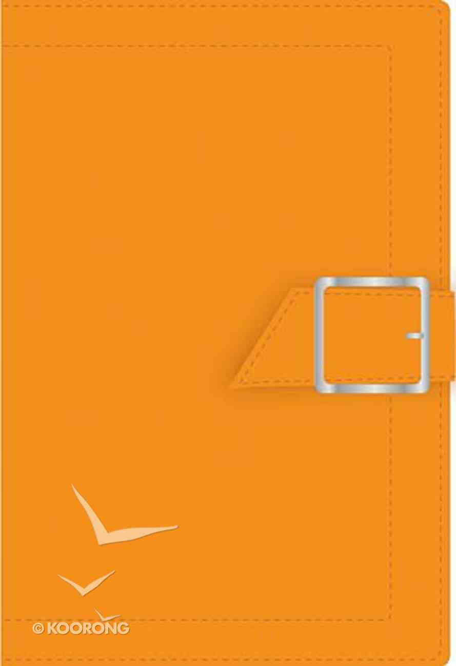 Ncv Pocket Orange With Snap Buckle Imitation Leather
