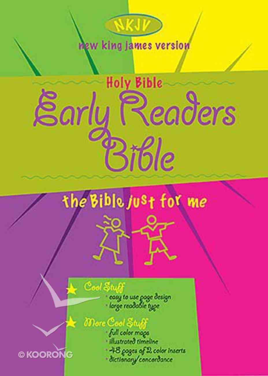 NKJV Early Readers Bible Blue Imitation Leather