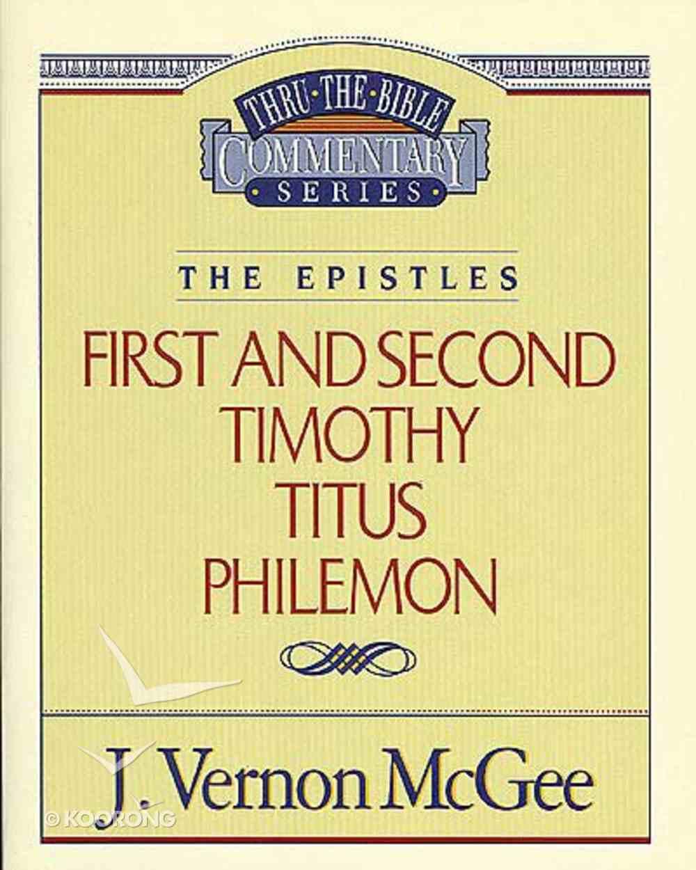 Ttb NT #50: 1&2 Timothy Titus Philemon Paperback