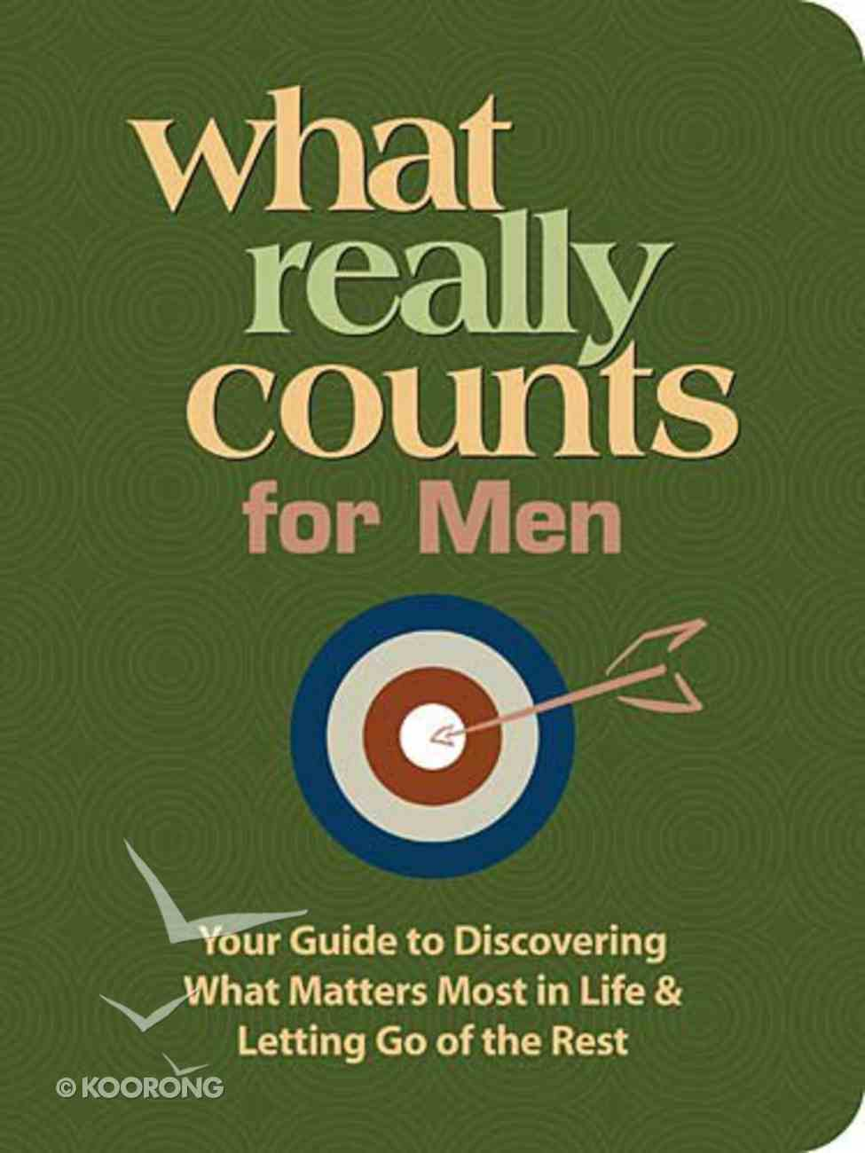 What Really Counts For Men Paperback