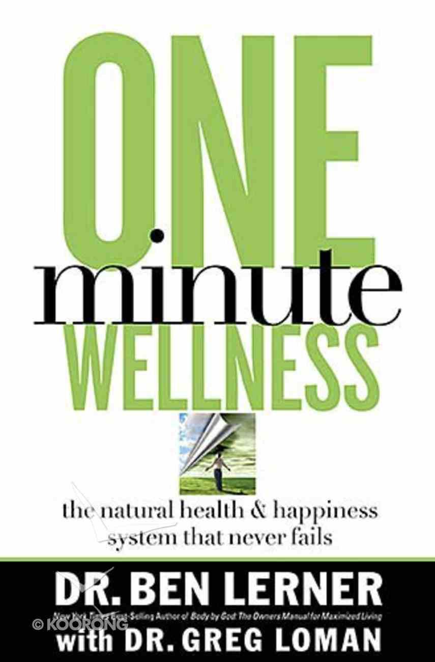 One Minute Wellness Hardback
