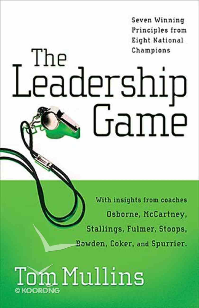 The Leadership Game Hardback
