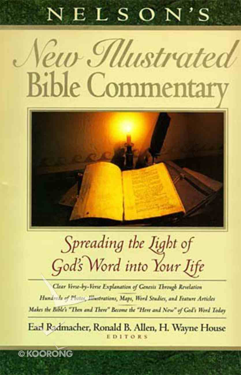 Nelson's New Illustrated Bible Commentary Hardback