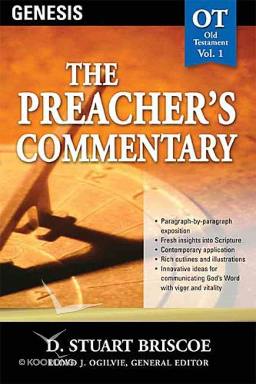 Genesis (#01 in Preacher's Commentary Series) Paperback