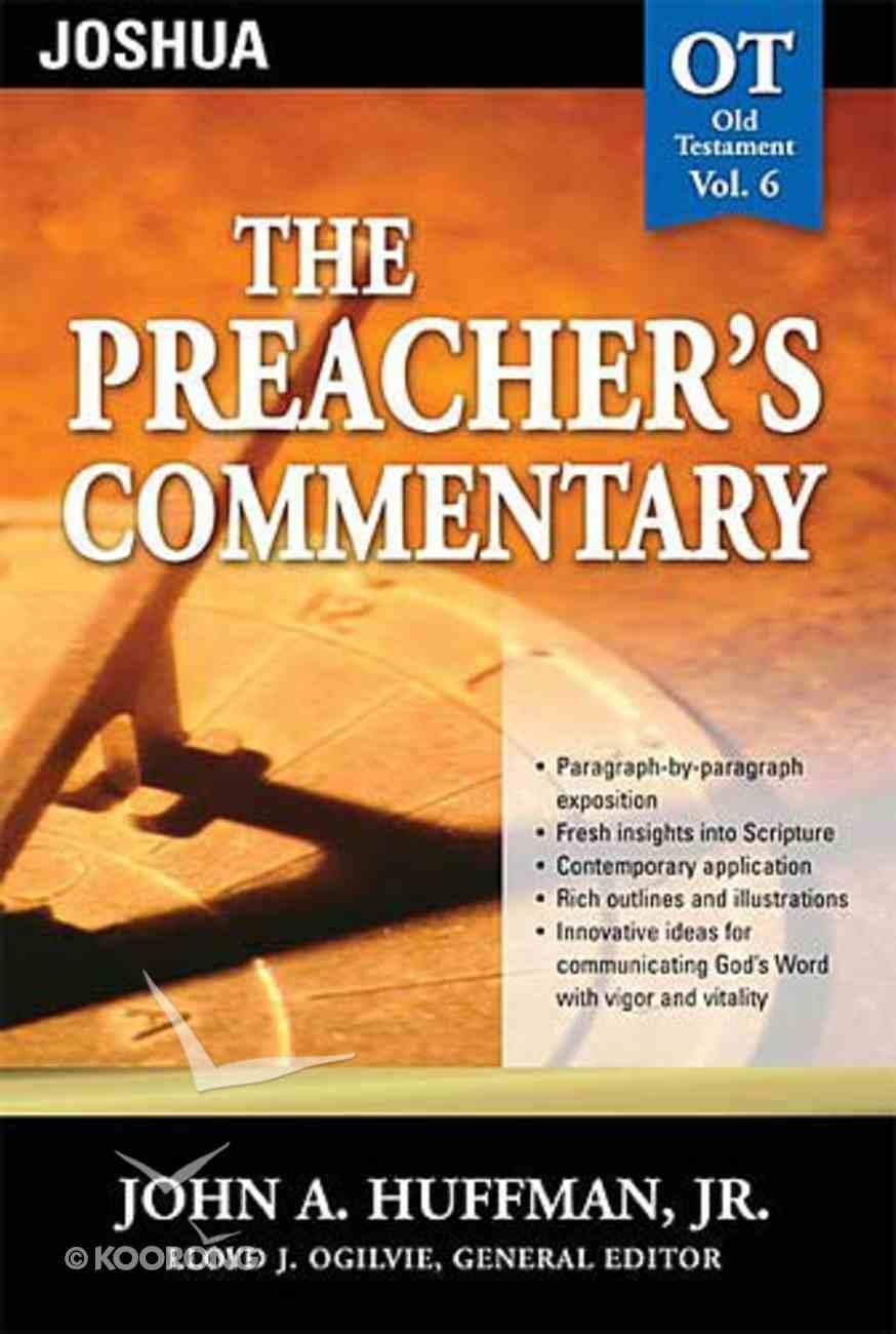 Joshua (#06 in Preacher's Commentary Series) Paperback