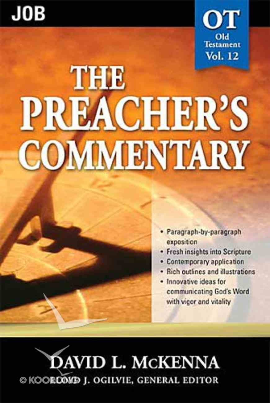 Job (#12 in Preacher's Commentary Series) Paperback