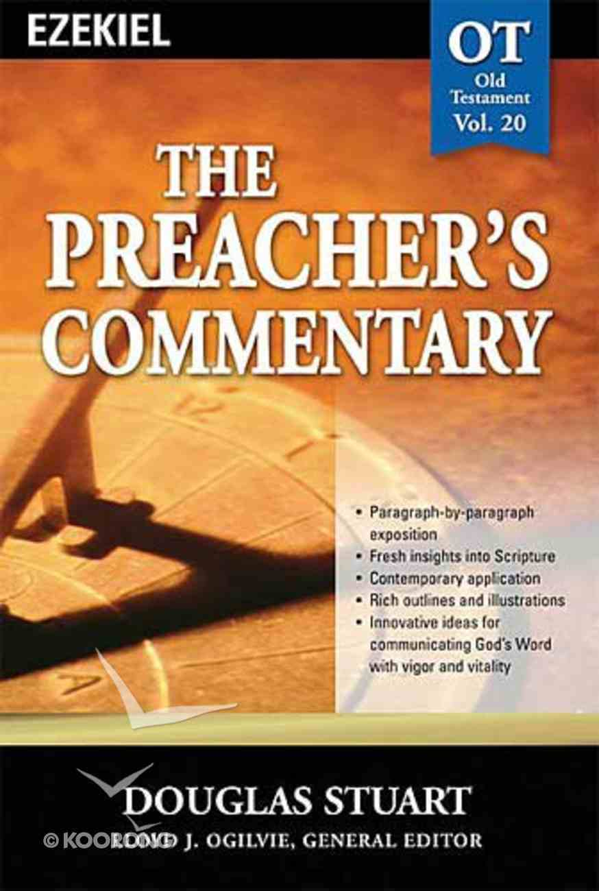 Ezekiel (#20 in Preacher's Commentary Series) Paperback