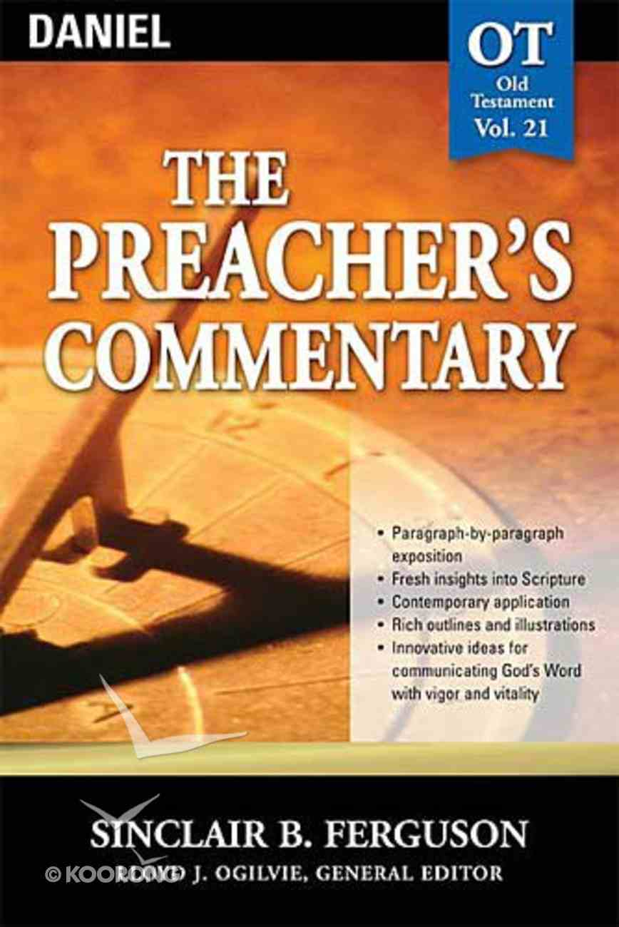 Daniel (#21 in Preacher's Commentary Series) Paperback