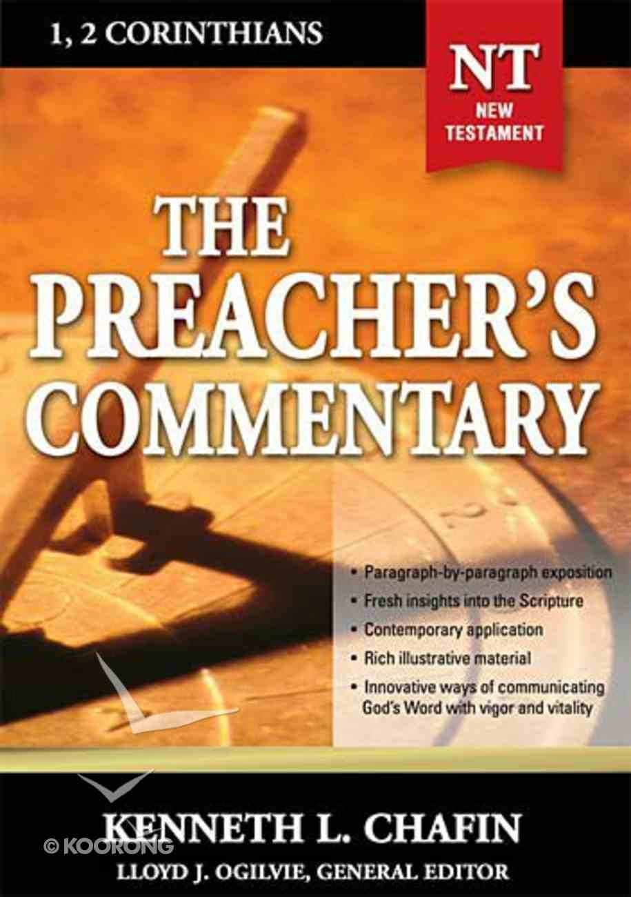 1&2 Corinthians (#30 in Preacher's Commentary Series) Paperback