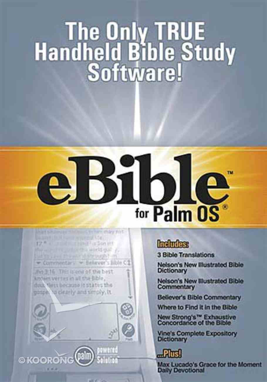 Ebible For Palm Os CDROM Pda CD-rom